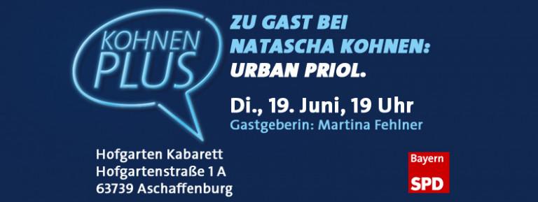 Banner: KohnenPLUS mit Urban Priol